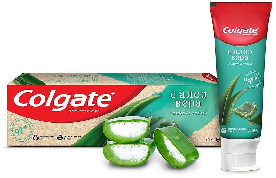 """Зубная паста """"Забота о деснах"""" с алоэ вера с натуральными ингредиентами - Colgate"""