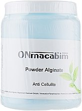 Духи, Парфюмерия, косметика Альгинатная маска против целлюлита - ONmacabim Alginate Powder Anti Cellulite
