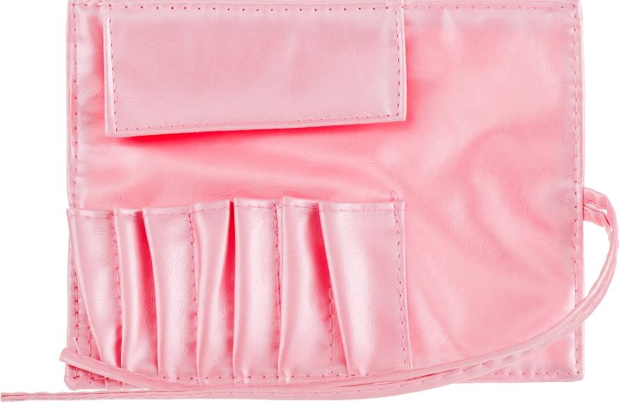 Чехол для кистей, 7шт, розовый - Aise Line Case For MakeUp Brush