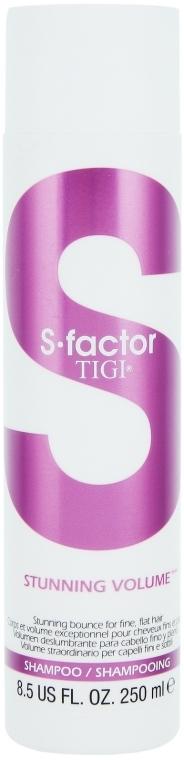 Шампунь для придания объема - Tigi S Factor Stunning Volume Shampoo