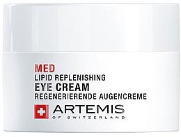 Духи, Парфюмерия, косметика Восстанавливающий крем для век - Artemis of Switzerland Med Lipid Replenishing Eye Cream