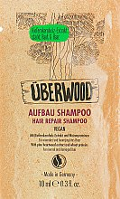 Духи, Парфюмерия, косметика Восстанавливающий шампунь для волос - Uberwood Hair Rapair Shampoo (пробник)