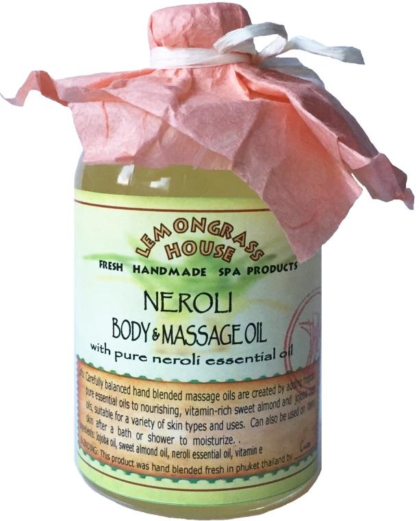 "Масло для тела ""Нероли"" - Lemongrass House Neroli Body & Massage Oil"