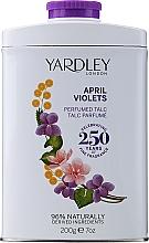 Духи, Парфюмерия, косметика Парфюмированный тальк - Yardley April Violets Perfumed Talc