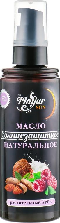 Масло солнцезащитное натуральное с естественным SPF-6 - Mayur Sun Oil