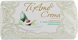 Духи, Парфюмерия, косметика Туалетное мыло с экстрактом авокадо - Мыловаренные традиции Ti Amo Crema