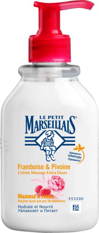 """Жидкое мыло для рук """"Малина и пион"""" - Le Petit Marseillais"""