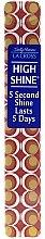 Духи, Парфюмерия, косметика Полирующая пилочка для ногтей 18 см, коричневая - Sally Hansen La Cross High Shine 5 Second Shine