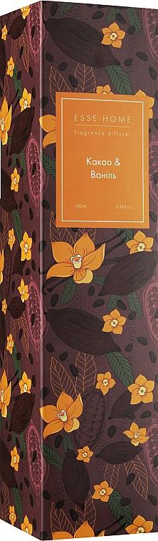 "Аромадиффузор ""Какао & Ваниль"" - Esse Home Fragrance Diffuser"