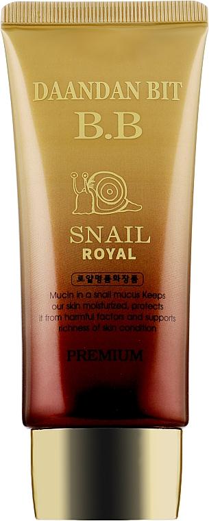BB-крем с муцином улитки и фитостволовыми клетками - Daandan Bit Snail Stem Cell BB-Cream Premium SPF 50 PA++