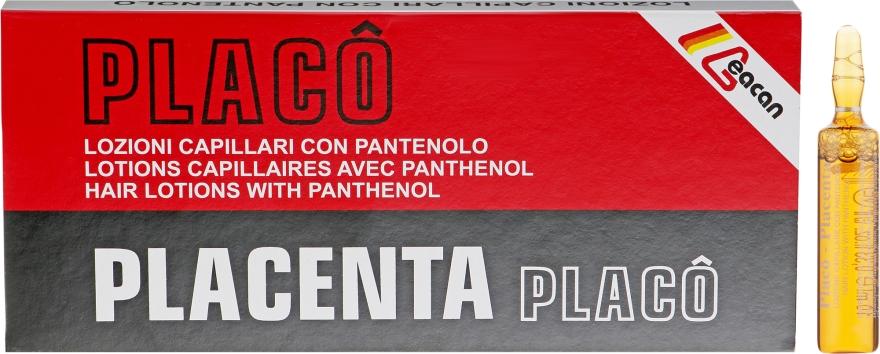Лосьон для волос с плацентой - Black Professional Line Placenta Pantovit Hair Ampoules