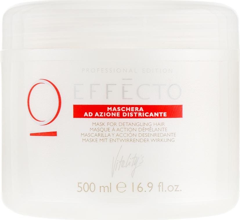 Маска для облегчения расчесывания волос - Vitality's Effecto Detangling Mask