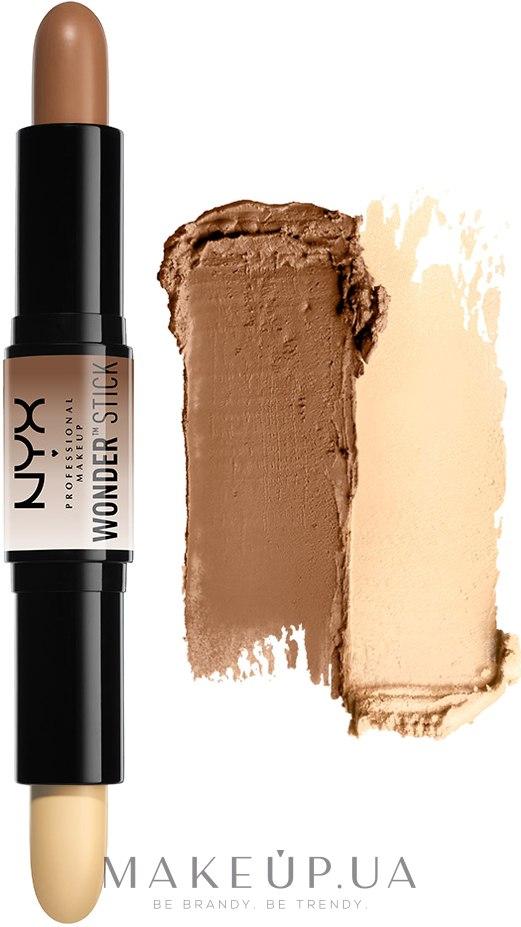 Двойной карандаш для контурирования - NYX Professional Makeup Wonder Stick — фото 01 - Light