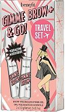 Парфумерія, косметика Набір - Benefit Gimme Brow & Go Set (mascara/3gx2)