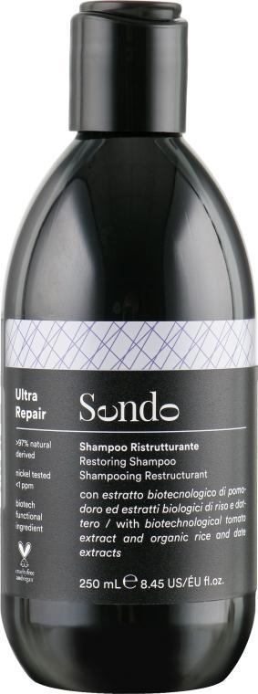 Восстанавливающий шампунь для поврежденных волос - Sendo Ultra Repair Restoring Shampoo