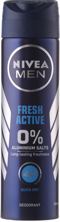 """Дезодорант спрей """"Заряд свежести"""" для мужчин - Nivea Fresh — фото N3"""