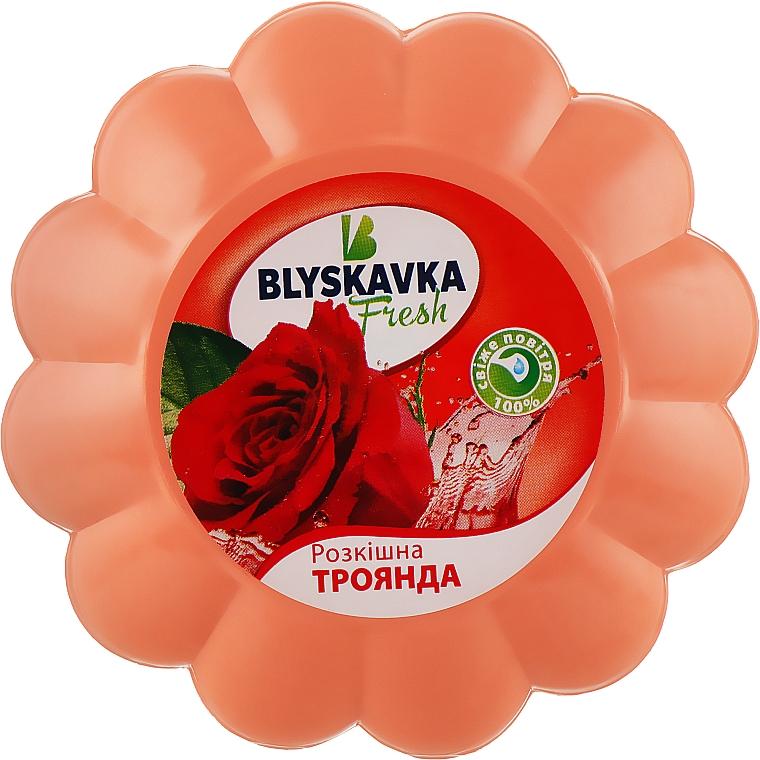 """Освежитель гелевый """"Роскошная роза"""" - Blyskavka Fresh"""