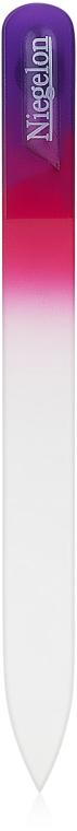 Пилочка хрустальная для маникюра фиолетовая 125мм, 1252 - Niegelon Solingen