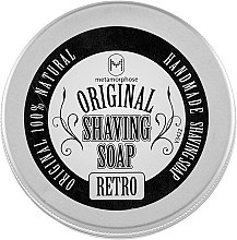 """Духи, Парфюмерия, косметика Мыло для бритья """"Shaving Soap Retro"""" - Metamorphose Original Beard"""