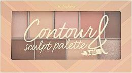 Духи, Парфюмерия, косметика Палитра хайлайтеров - Ruby Rose Contour Sculpt Palette