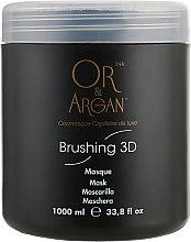 Духи, Парфюмерия, косметика Фиксирующая маска с кератином и маслом ши - Or&Argan Brushing 3D