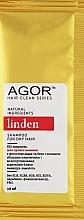 Духи, Парфюмерия, косметика Био-шампунь для сухих волос - Agor Hair Clean Series Linden Shampoo For Dry Hair (пробник)