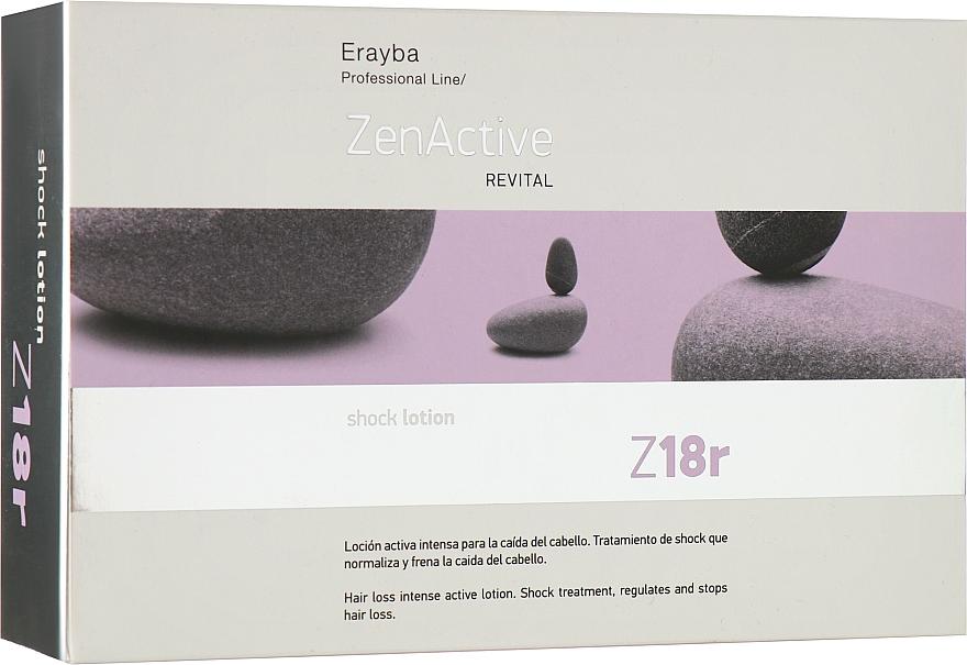 Ампулы против выпадения волос - Erayba Z18r Shock Lotion