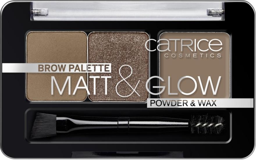 Палетка для бровей - Catrice Palette Matt&Glow