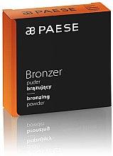 Компактная пудра-бронзатор - Paese Coconut Oil Bronzer Powder — фото N2