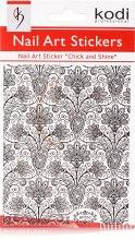 Духи, Парфюмерия, косметика Наклейка для дизайна ногтей - Kodi Professional Nail Art Stickers BP052