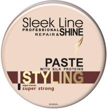 Духи, Парфюмерия, косметика Паста для укладки волос - Stapiz Sleek Line Styling Paste With Silk