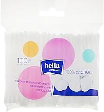 Духи, Парфюмерия, косметика Ватные палочки в полиэтиленовой упаковке, 100шт - Bella