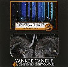 """Духи, Парфюмерия, косметика Чайные свечи """"Сказочные летние ночи"""" - Yankee Candle Scented Tea Light Candles Dreamy Summer Night"""