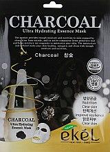 Духи, Парфюмерия, косметика Маска тканевая с древесным углем - Ekel Charcoal Ultra Hydrating Essence Mask