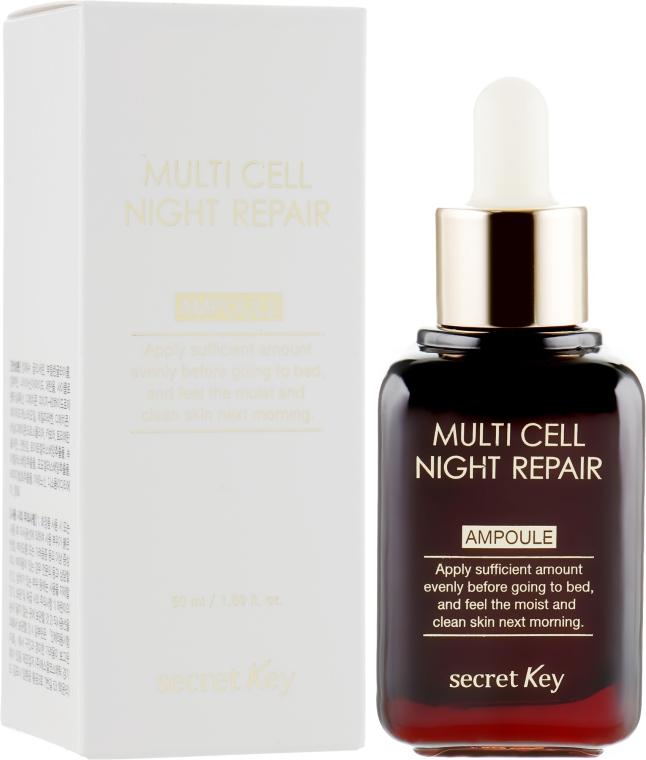 Ночная сыворотка - Secret Key Multi Cell Night Repair Ampoule