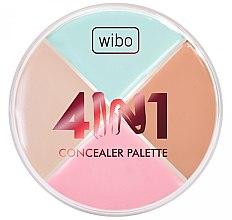 Духи, Парфюмерия, косметика Палитра корректоров для лица - Wibo 4in1 Concealer Palette