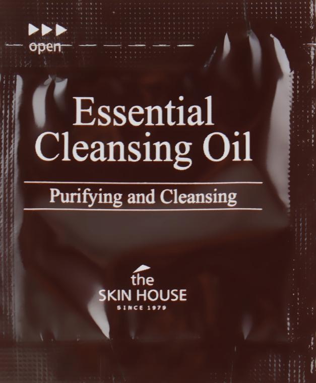 Гидрофильное масло для снятия макияжа - The Skin House Essential Cleansing Oil (пробник)