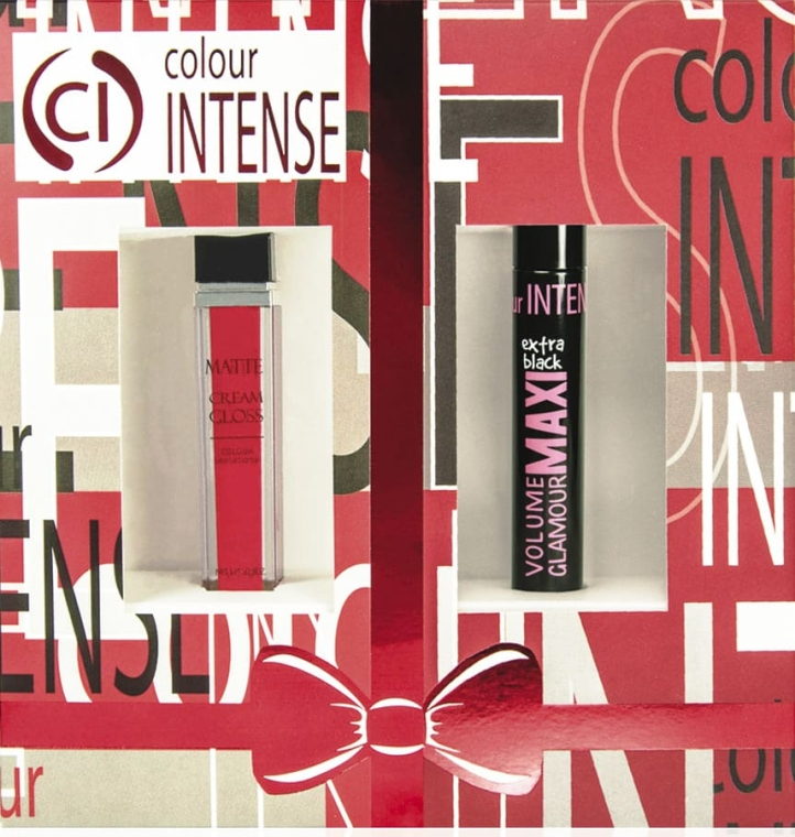 Набор - Colour Intense (mascara/10ml+lipstick№6/9g)