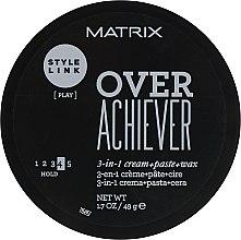 Парфумерія, косметика Паста для укладання волосся - Matrix Style Link Over Achiever Paste