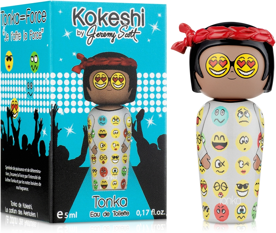 Kokeshi Parfums Tonka by Jeremy Scott - Туалетная вода (мини) — фото N1