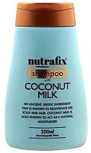 Духи, Парфюмерия, косметика Шампунь для волос с кокосовым молочком - Nutrafix Shampoo With Coconut Milk