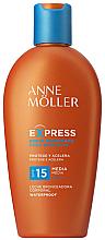 Духи, Парфюмерия, косметика Солнцезащитное молочко для ускорения загара - Anne Moller Express Sunscreen Body Milk SPF15