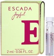 Духи, Парфюмерия, косметика Escada Joyful - Парфюмированная вода (пробник)