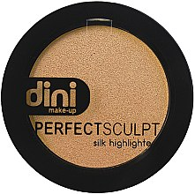 Духи, Парфюмерия, косметика Хайлайтер для лица - Dini Perfect Sculpt Silk Higligher