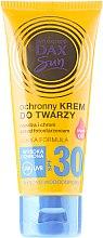 Духи, Парфюмерия, косметика Солнцезащитный крем для лица с аргановым маслом - DAX Sun Protective Face Cream SPF 30