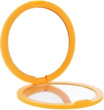 Духи, Парфюмерия, косметика Зеркало косметическое круглое, 85543, оранжевое - Top Choice