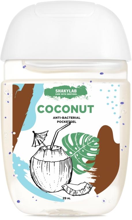 """Антибактериальный гель для рук """"Coconut"""" - SHAKYLAB Anti-Bacterial Pocket Gel"""