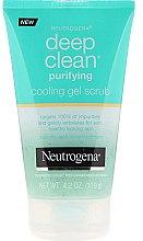Духи, Парфюмерия, косметика Гель-скраб для лица - Neutrogena Skin Detox Cooling Gel Scrub