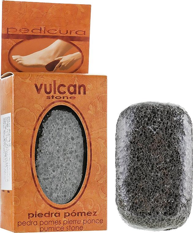 Пемза, 98x58x37мм - Vulcan Pumice Stone Dark Grey