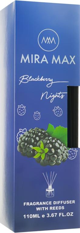 Аромадиффузор - Mira Max Blackberry Nights Fragrance Diffuser With Reeds